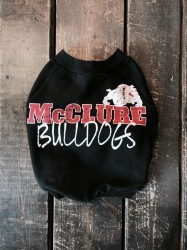 vintage BULLDOG sweat EnglishBulldog S