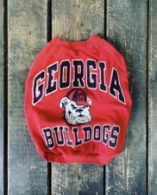 Vintage!! BULLDOG sweat EnglishBulldog M